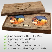Case DVD / Blu-Ray e Pen drive