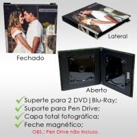 Capa DVD / Pen drive / Blu-Ray