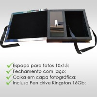 Case Pen Drive / Fotos avulsas com capa Fotográfica