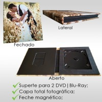 Capa DVD | Blu-ray e Pen Card fotográfica