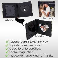 Capa DVD / Pen drive com foto interna